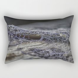 Surprise of nature- spider web Rectangular Pillow