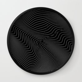 Distortion 017 Wall Clock