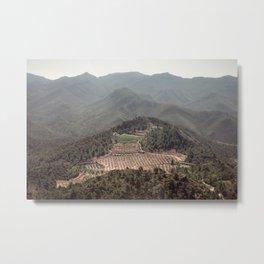 Mountains in Chelva Metal Print