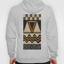 African Tribal Pattern No. 16 Hoody