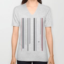 Kirovair Blocks Grey Elegance #minimal #design #kirovair #decor #buyart Unisex V-Neck