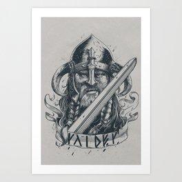 Raider (Viking) Art Print