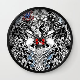 Bone Gear: Killin It Wall Clock