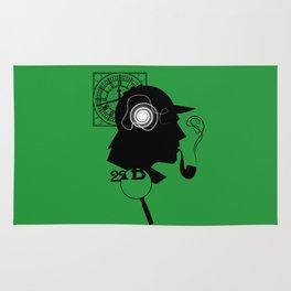 Sherlock Holmes Rug