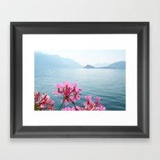 Italian Lakes Framed Art Print