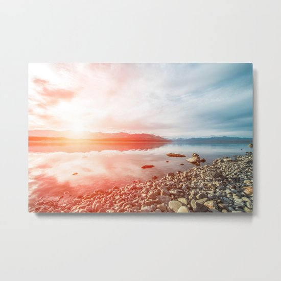 Sunset Landscape #photography Metal Print