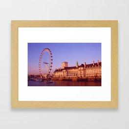 Sunny London Framed Art Print