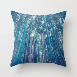 Within the Bamboo Forest Throw Pillow