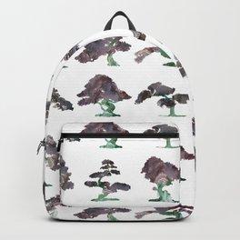 New Bonsai Pattern Backpack