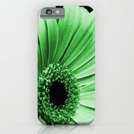 Gerbera Green iPhone Case