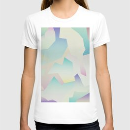 Abstract gradient 4 T-shirt