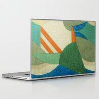 brasil Laptop & iPad Skins featuring Caprichoso (Parintins - Brasil) by Fernando Vieira