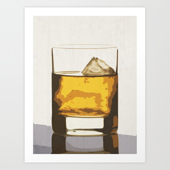 Old Scotch Whiskey Art Print