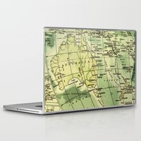oz Laptop & iPad Skins featuring Oz Land by strentse