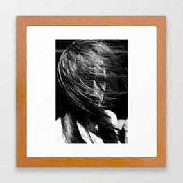 Ticked Framed Art Print