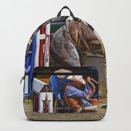 The Release - Rodeo Bronco Riding Backpack