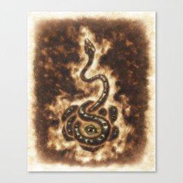Serpent Power Canvas Print