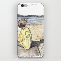 cape cod iPhone & iPod Skins featuring Cape Cod by Katerina Skassi