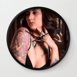 Thoughts of Beauty Wall Clock