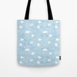 Baby Seal Pattern Tote Bag