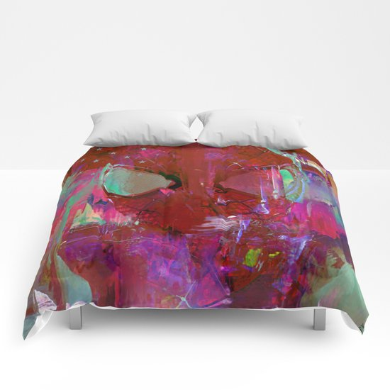Spider Abstract Man Comforters