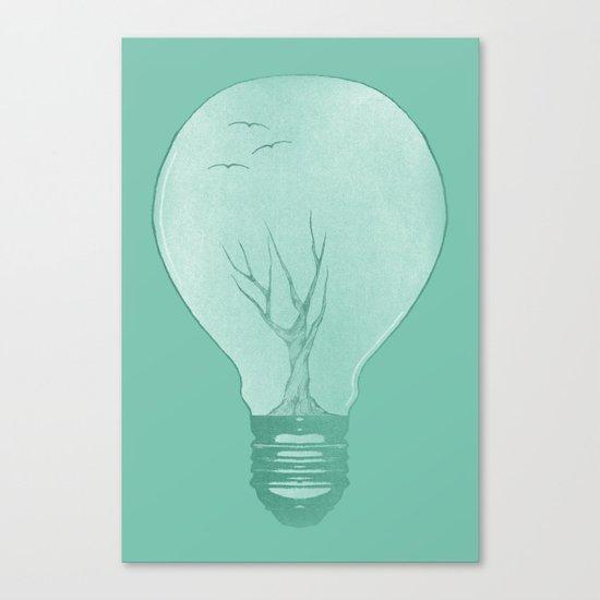 Ideas Grow 2 Canvas Print