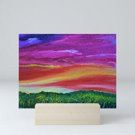 Sunset Memories Mini Art Print