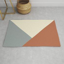Origami Geo Tile // Terracotta Rug