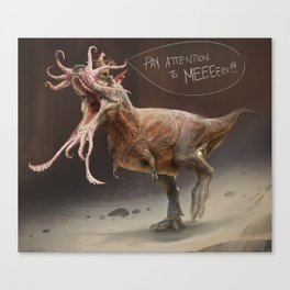 The Most Inaccurate T-Rex Ever. Canvas Print