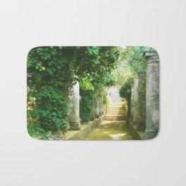 Magic Garden on Capri Island Bath Mat