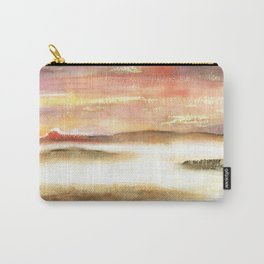 Abstract Landscape Watercolor Art Carry-All Pouch