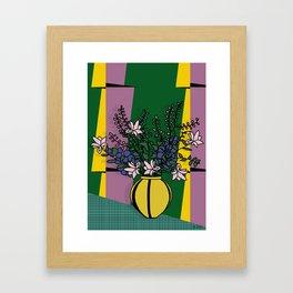 in a false mirror Framed Art Print