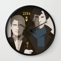british Wall Clocks featuring British Gothic by Danny Haas