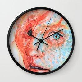 Metamorphosis-chameleon  Wall Clock