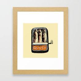 consumption 2 Framed Art Print