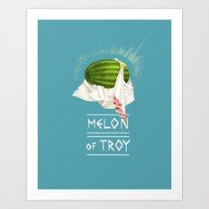 Melon of Troy Art Print