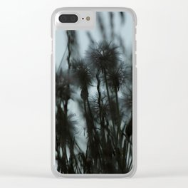 Whispering - JUSTART (c) Clear iPhone Case