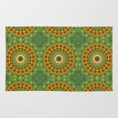 Garden Mandala Pattern Rug