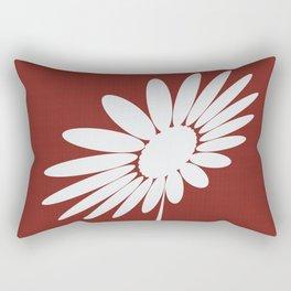 Cute Abstract Daisy Garden Star Rectangular Pillow