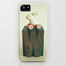 W is for Wheels iPhone SE Slim Case