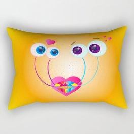 Garden Snail Love Rectangular Pillow
