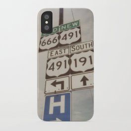 Old route... new route iPhone Case