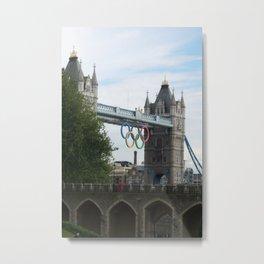 Big Day at the Bridge DPG150521b Metal Print
