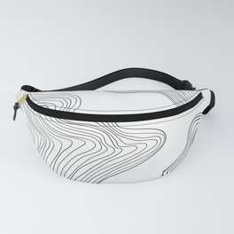 Linear abstraction #3 Fanny Pack