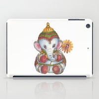 ganesh iPad Cases featuring Ganesh by coconuttowers