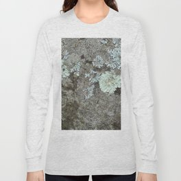 Lichen on granite Long Sleeve T-shirt