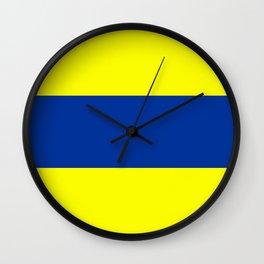 Delta Flag Wall Clock
