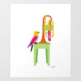 Cornet Art Print