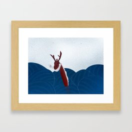 Sea Dragon Framed Art Print