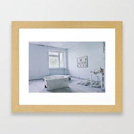 Chernobyl - лікарня Framed Art Print